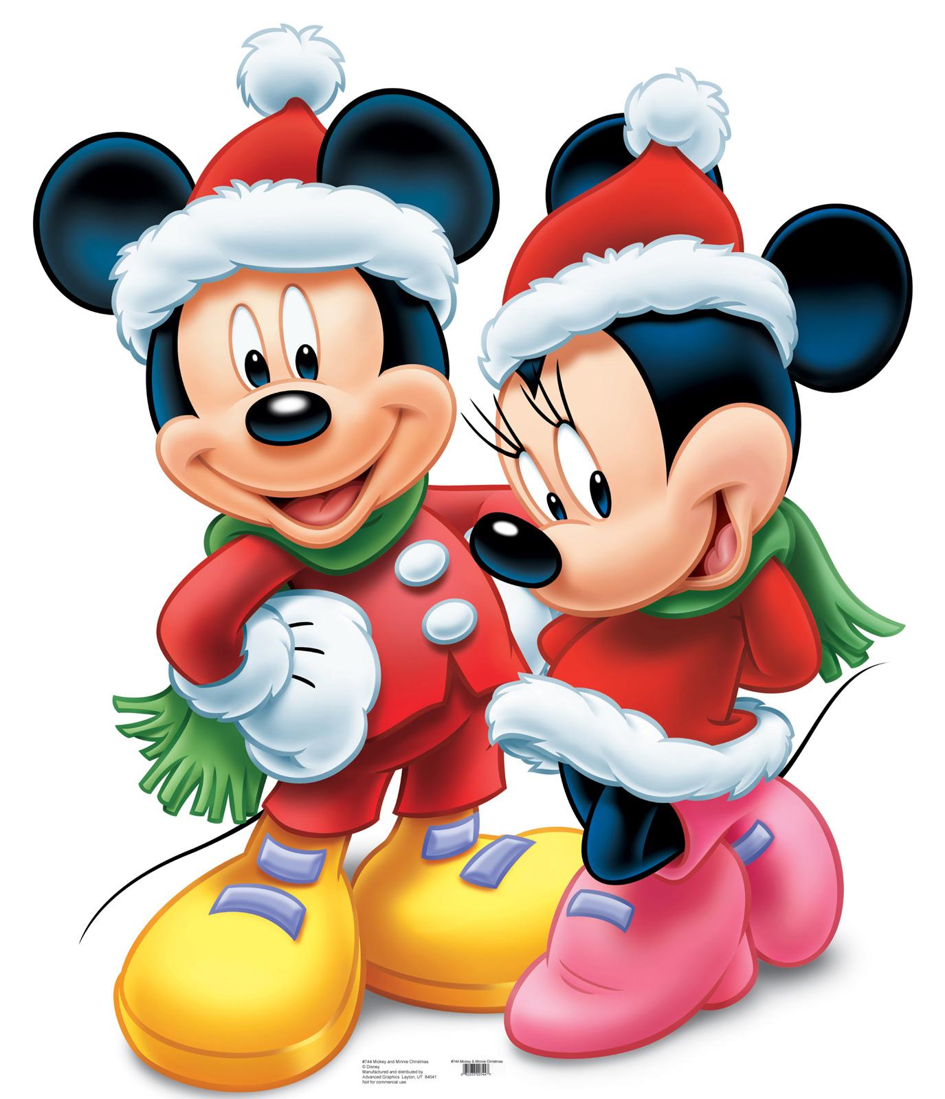BAL DE NAVIDAD Fondos Minnie Mouse Y Mickey En Navidad