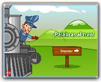 JUEGO , PALABRAS AL TREN