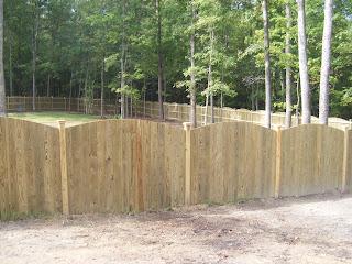 Деревянный забор. Фото 45