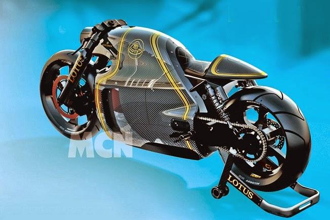 Lotus entra para o mundo de duas rodas com super bike.