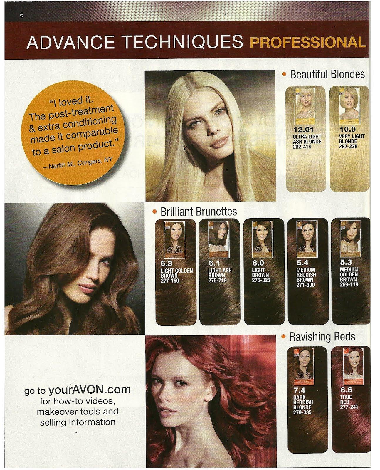 Christina Serrano Ind. Avon Sales Rep: Advanced Technique Hair Dye ...