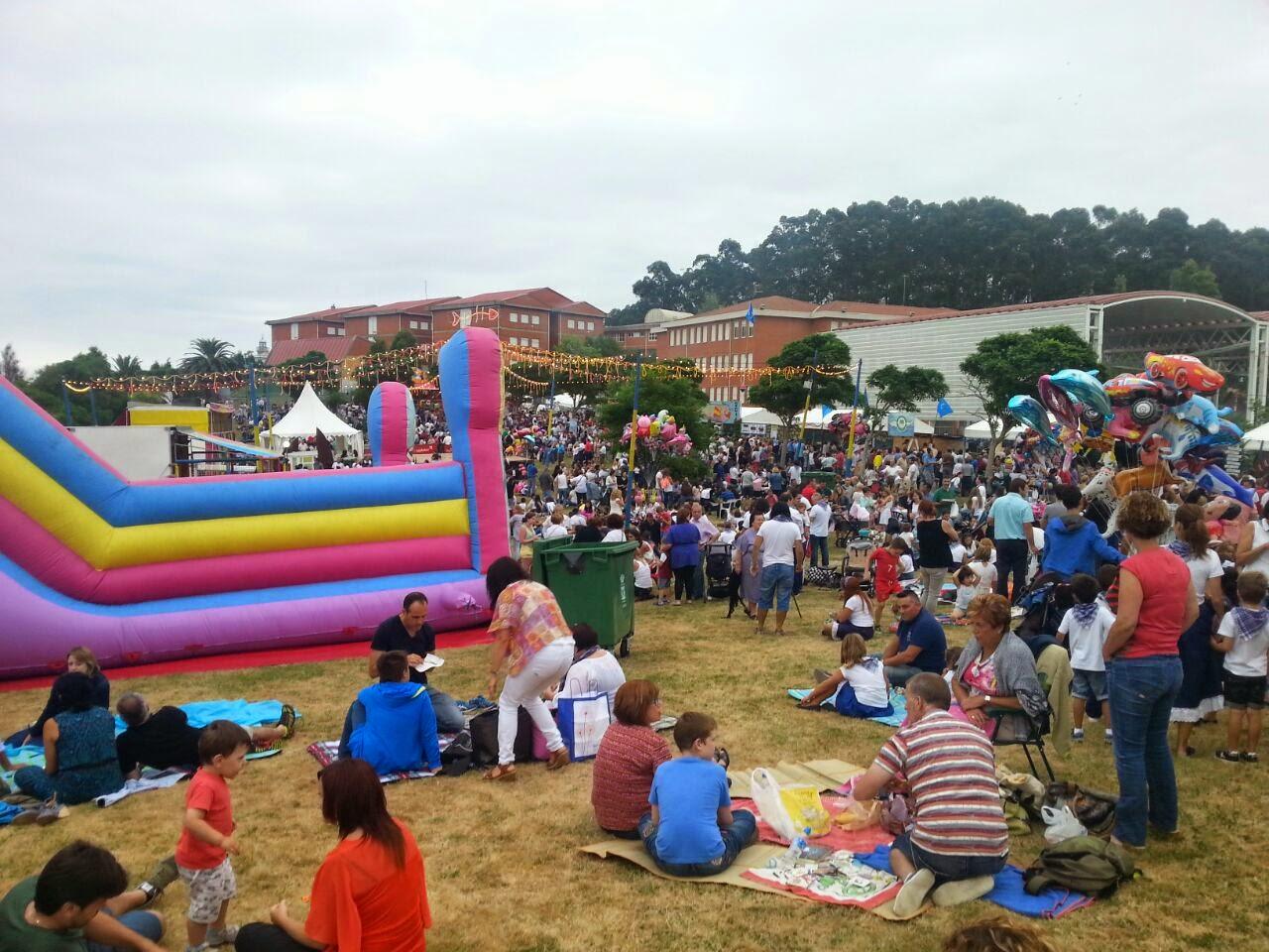 festival sardina candas asturias fiesta