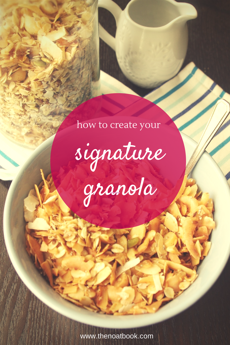 How to make your signature granola recipe