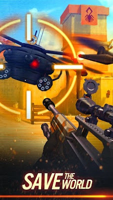 Sniper X With Jason Statham MOD Apk 1.2.1
