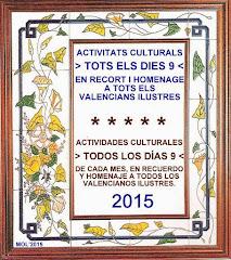 FEBRER-FEBRERO 2015, TOTS ELS DIES 9. BIO RAFAEL GUASTAVINO I MORENO