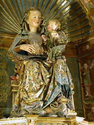 Virgen de la Majestad, Espanha