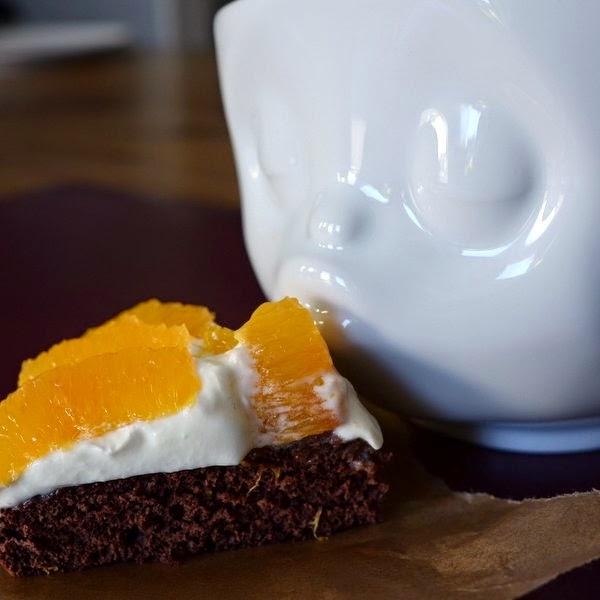 siebaecktgern Blutorange Joghurt Schokolade Bisquit  Torte #kissthecake