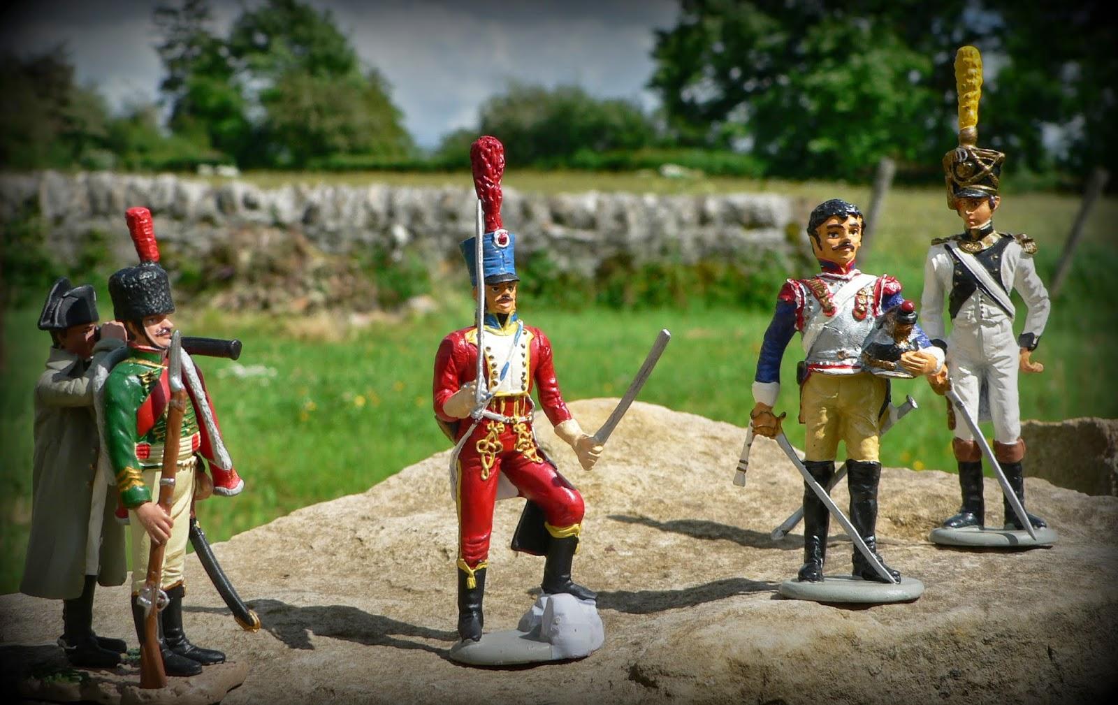 Collections maquettes et figurines du bois du lac soldats for La 9eme porte