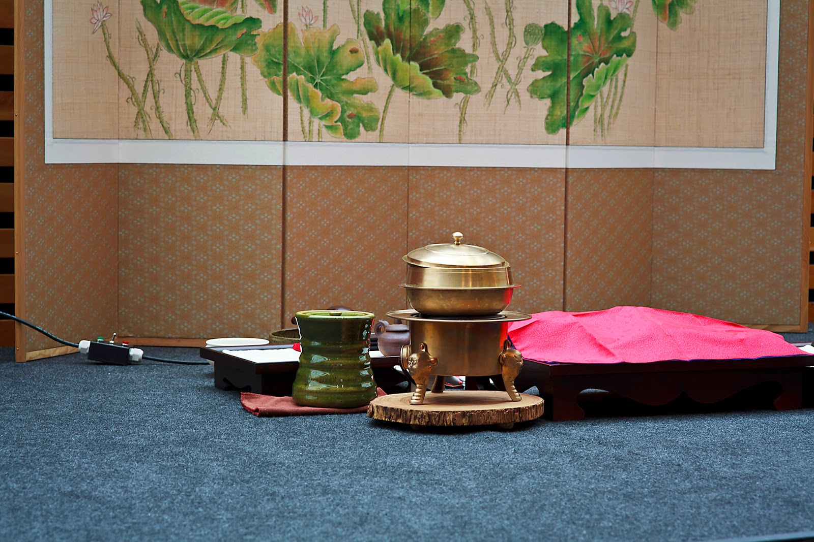 Image of a tea ceremony