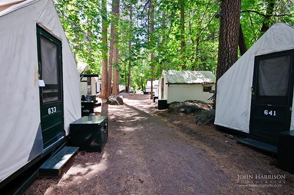 San francisco bay area photography john harrison for Curry village cabins yosemite