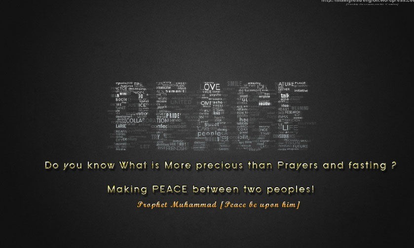 Peace - ~!!~ Polling for Islamic Comp January 2014 ~!!~