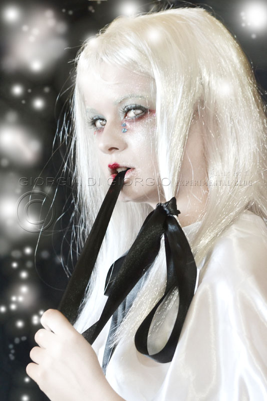 Giorgia Di Giorgio THEATRE MAKEUP - Halloween Makeup Ideas - Ghost Makeup - Ghost Girl