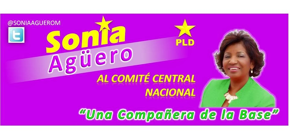 Sonia Agüero al Comité Central  por la Nacional