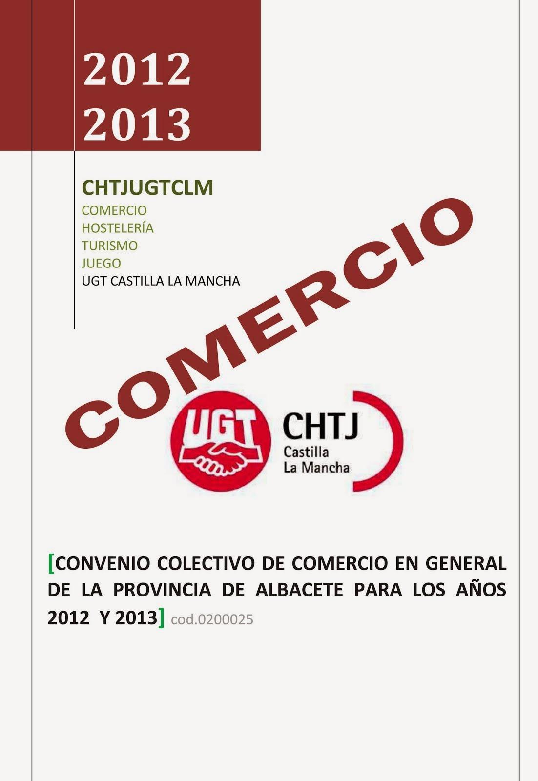 CONVENIO COMERCIO ALBACETE
