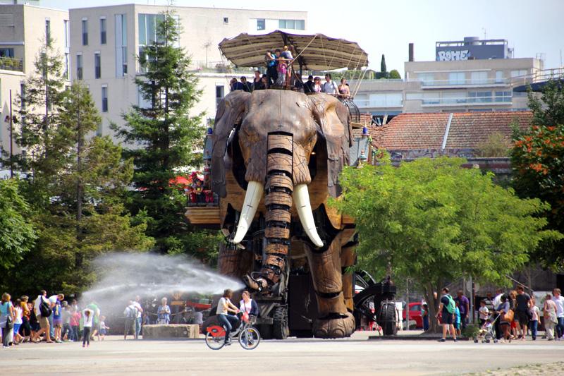 Voyage Nantes Galerie des Machines Elephant tourisme culture art