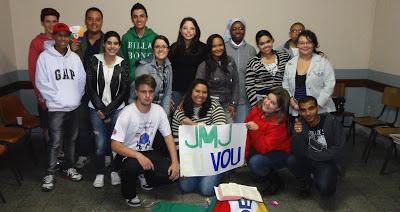 Juventude Missionário Rumo a JMJ Rio 2013
