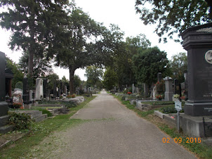 Zentralfriedhof  cemetery.One of the World's largest Cemeteries.