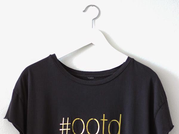 Black #ootd Tee!