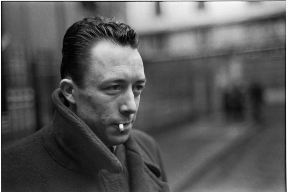 Los escritores más guapos del mundo - Albert Camus