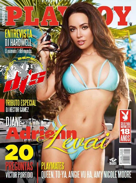 DJ Adrienn Levai Revista Playboy Venezuela Septiembre 2015