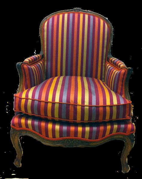 tapisserie ameublement et restauration mobilier une berg re acidul e comme un bonbon arlequin. Black Bedroom Furniture Sets. Home Design Ideas