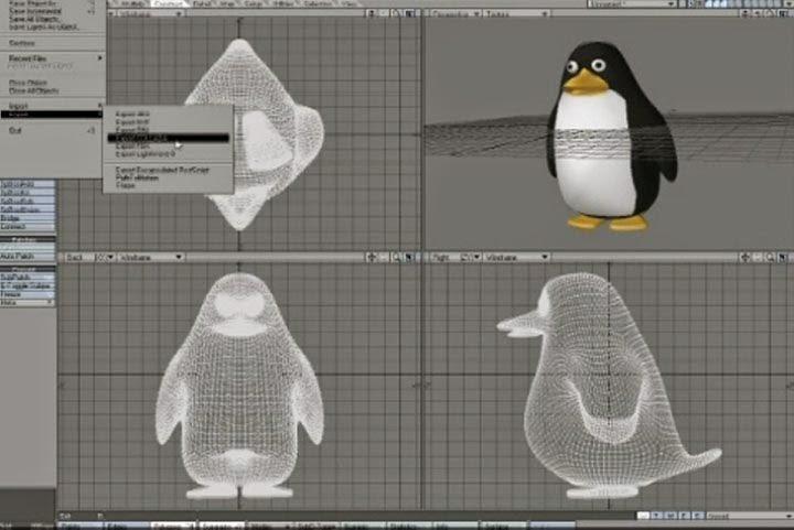 تحميل برنامج LightWave 3D لعمل نماذج للصور وتحريكها