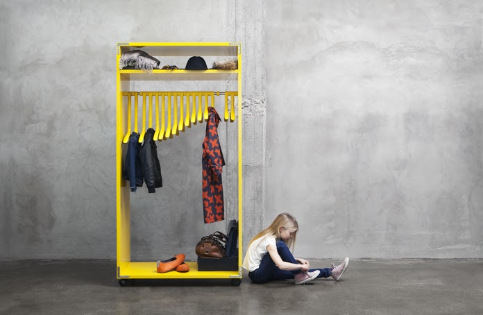 the 3D Dino Clothes rack by Kayiwa