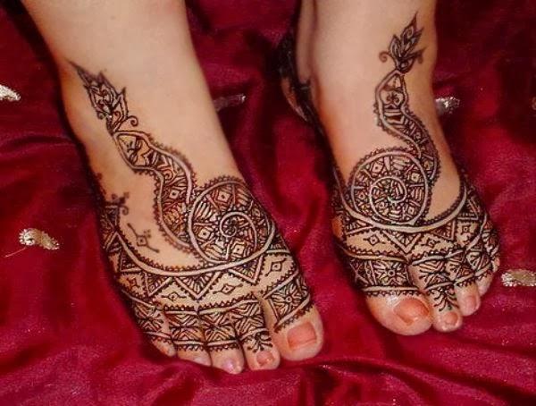 Mehndi Leg Design Latest Images : Hair style — mehndi designs legs pictures new