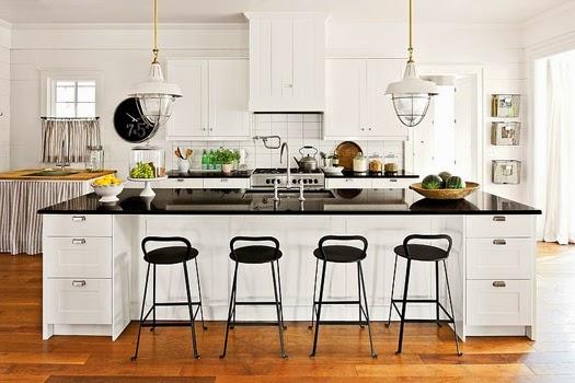 renovated farmhouse kitchen