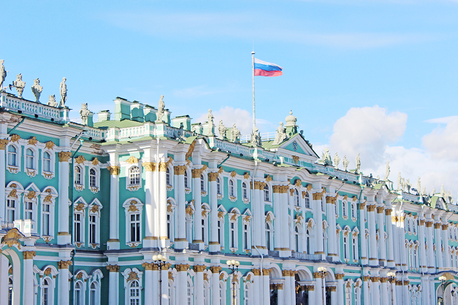 Winter Palace, State Hermitage Museum - St Petersburg, Russia