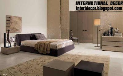 calm bedroom design with Turkish ideas and furniture beige 2013