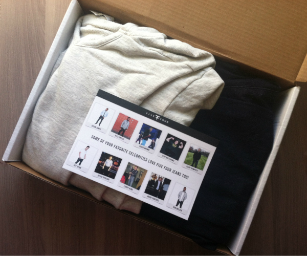 Five Four Club - October 2012 Review and Coupon Code - Monthly Clothing Subscription Boxes for Men