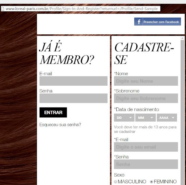 Site oficial da campanha
