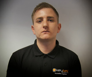 Accredited emergency locksmith Thomas who trained at the Keytek Locksmith Training Academy
