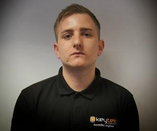 Accredited emergency locksmith Thomas who trained at the Keytek Locksmith Training Academy