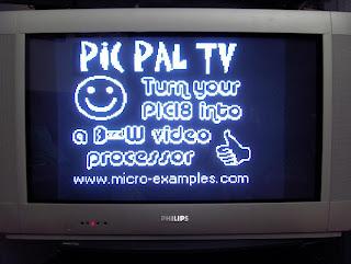 Sinal de TV com PIC18