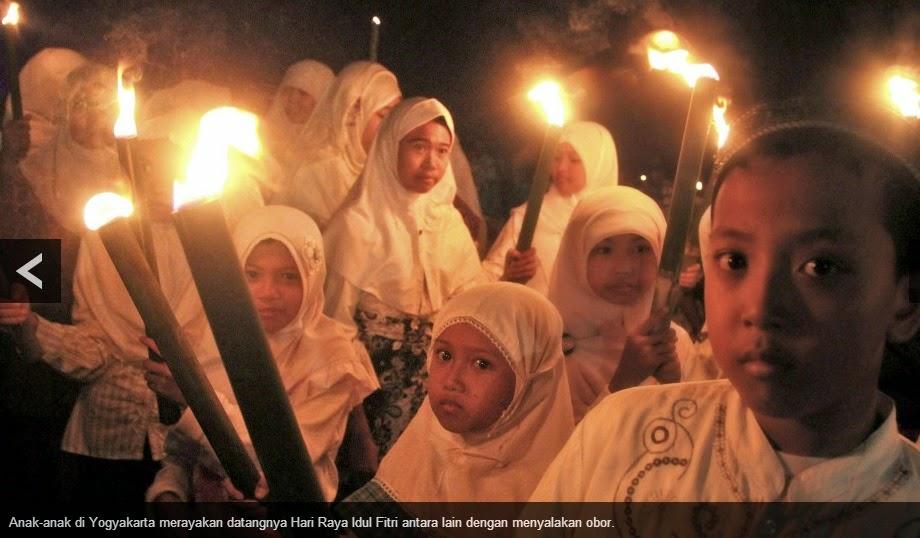 Menyambut Hari Raya Idul Fitri 1435 H / 2014 M