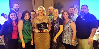 Hencerling recently received a Lifetime Acheivement Award from the Juvenile Justice Association of Texas.