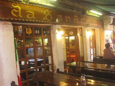 da sandro bar, restaurant, venice italy