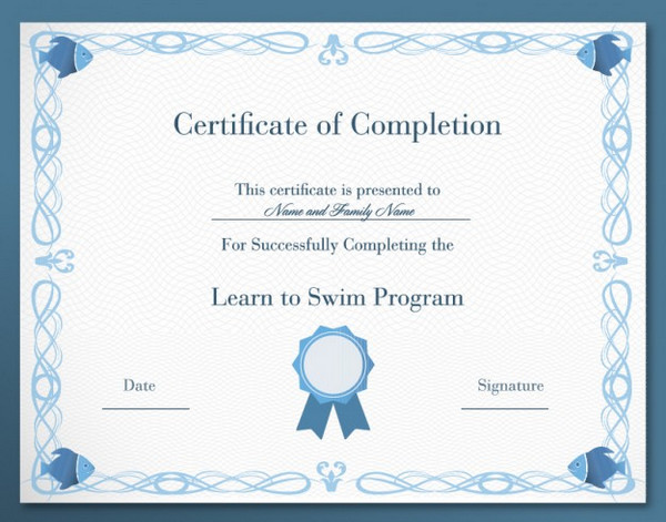 certificate of appreciation template psd free download - psd