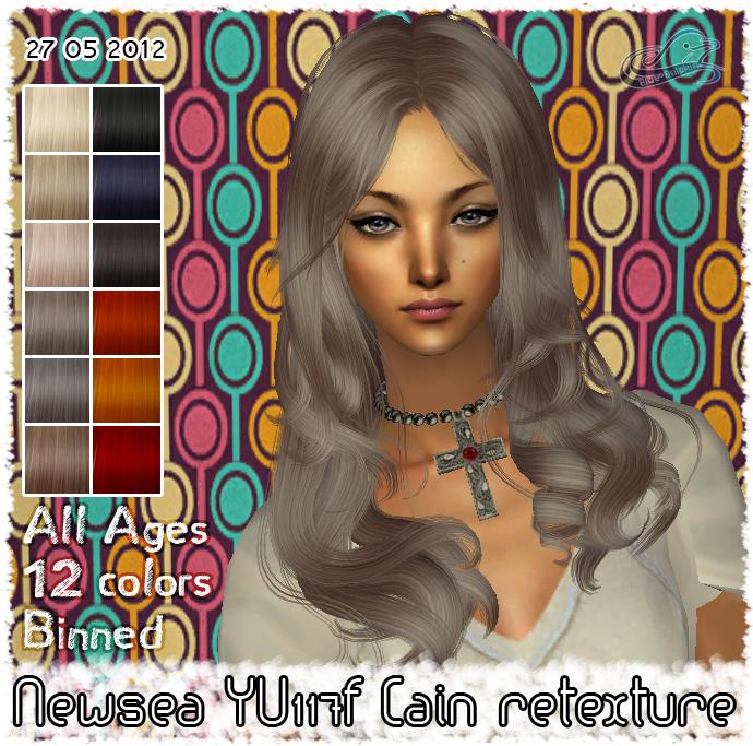Прически для The Sims 2 .Женские YU117f+01