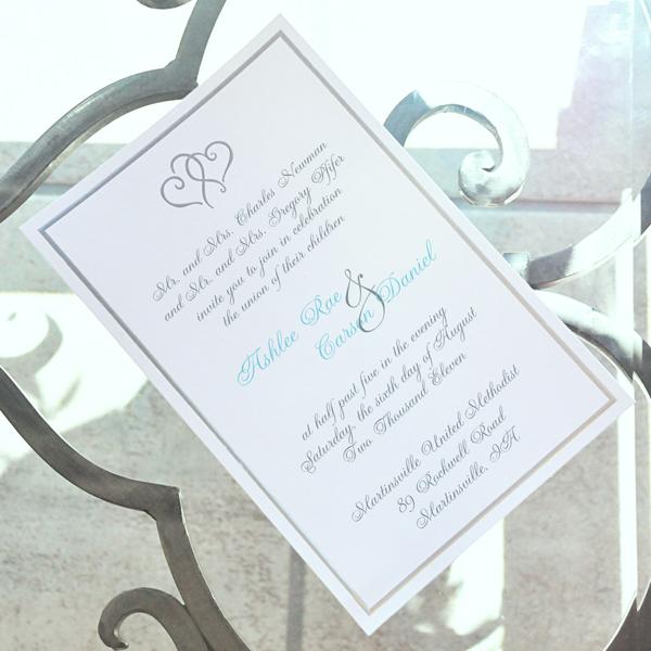 Unxia Platinum Hearts Invitation Kit