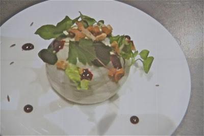 Preparación en plato de Jean Suspice en Gastronomika 2012 Blog Esteban Capdevila