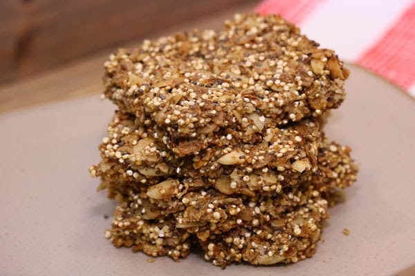 Apricot Chia Energy Bars