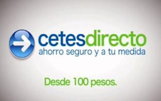 Invierte seguro en cetes directo México