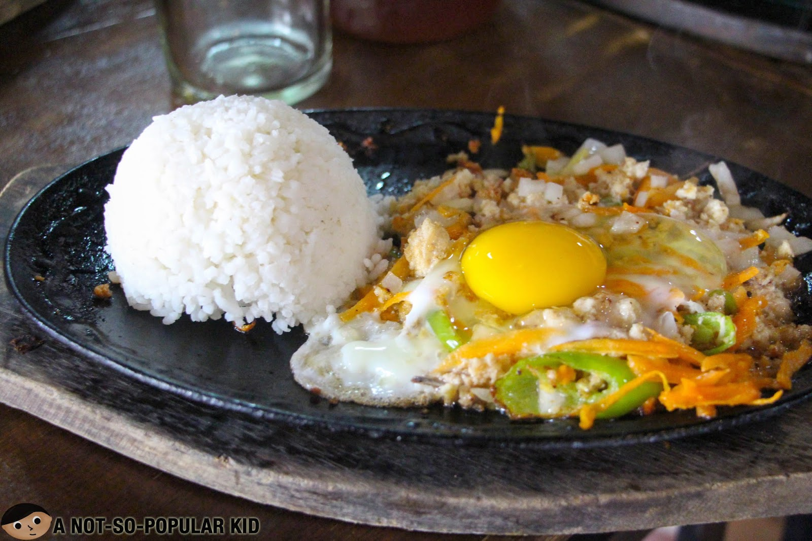 Chicken Sisig of Tinuno Grill and Cafe