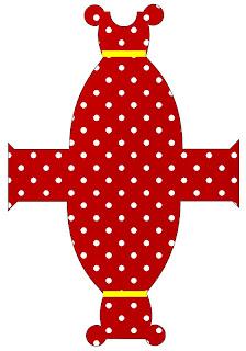 Fazendo a Minha Festa!: Minnie Vermelha - Kit Completo de molduras ...