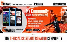 Cristiano Ronaldo crée son propre réseau social