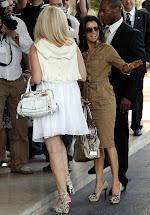 Hauts Talons Stars Eva Longoria - Hotel Martinez Cannes