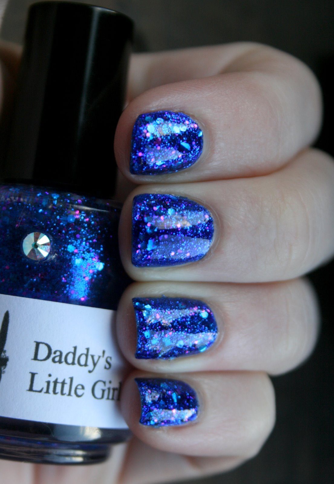 Girly Bits Daddy's Little Girl swatch